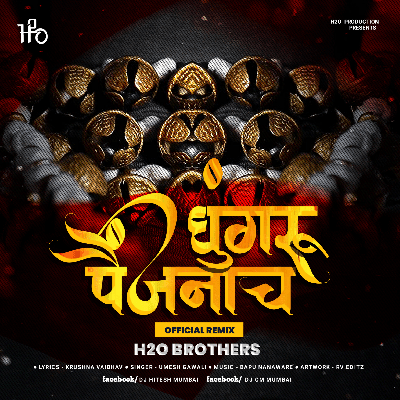 Ghungaru Paijanach - (Official Remix) - H2O BROTHERS